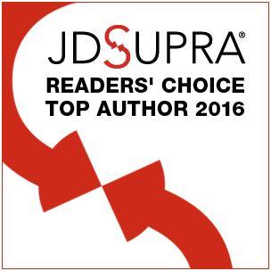 JDSupra Readers' Choice Top Author 2016