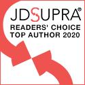 JDSupra Readers' Choice Top Author 2020