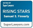 Rated by Super Lawyers Rising Stars Samuel S. Finnerty SuperLawyers.com